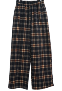 Connaught Check Banding Wide Pants 長褲
