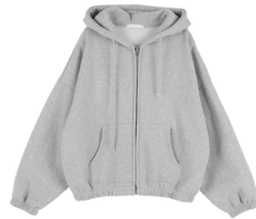 Bambi Fleece-lined hooded zip-up sweatshirt