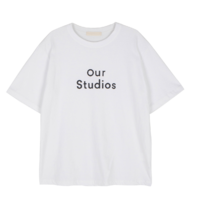 Studio printed short sleeve T-shirt