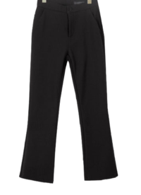 Fleece-lined Flared feet slacks