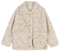 Pedy toggle bag set fur jacket