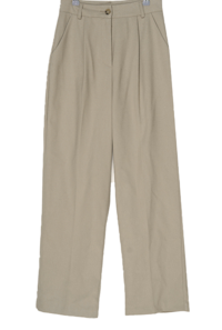 Miru Pintuck Wide Slacks