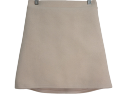 Handy Back Banding Wool Skirt
