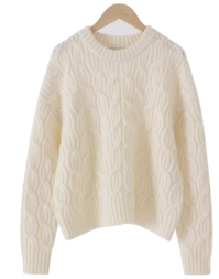 Isabelle Loose Fit Cable Knit