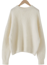 Hairy Loose Fit Alpha Knit