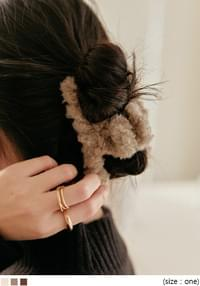 Fuzzy Hair Clamp