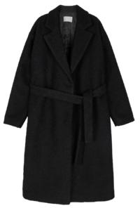 Aurora Belted Booklet Long Coat