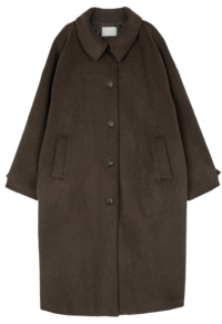 May Wool Overfit Long Coat