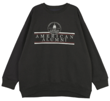 American brushed crew neck sweatshirt