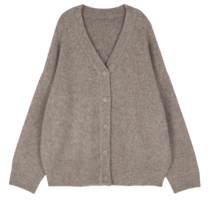 Aion wool over cardigan