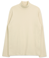 PBP. Woolen Loose-fit Turtleneck T-shirt