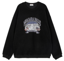 Niagara Fleece-lined crew neck sweatshirt