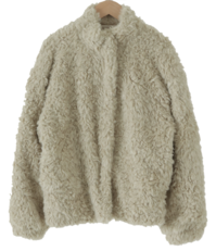 Melrose Curly Fur Jacket