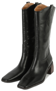 Very middle heel western boots