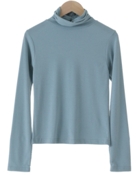 First Worm Fleece-lined Turtleneck T-shirt