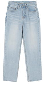 Great straight jeans