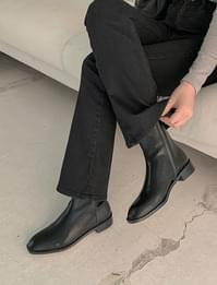 Combine Square Ankle Boots