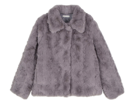 Marron fur jacket