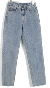 Eden straight denim pants