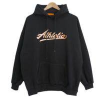 Etti lettering sheep brushed hoodie
