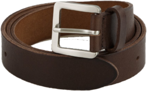 Basic Square Buckle Cowhide Belt