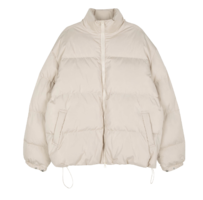 Vivid unisex padded jacket zip-up