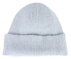 Pastel ribbed short beanie