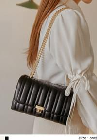 Chain Strap Vertical Quilted Mini Bag