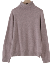 Normal Soft Wool Turtleneck Knitwear 針織衫