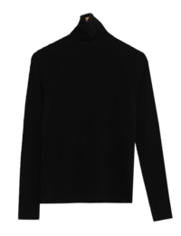 #AWABMADE:_Angora turtleneck T-shirt