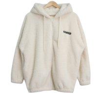 Heer fleece hooded zip-up