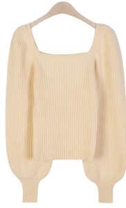 Puff Pang Square Knit