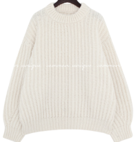 Brioche Knit Sweater