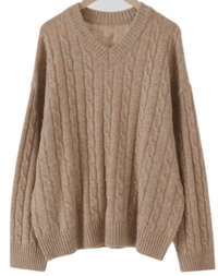 Ever High Wool Cable Knit