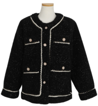 Mony Rose Tweed Jacket