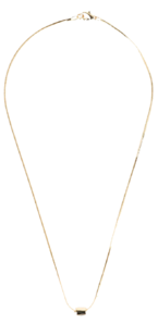 Maze point necklace