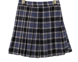 Mini Moa pleated skirt