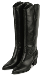Holson Western high heel long boots