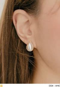 PENNA PEARL WATER DROP EARRING