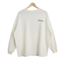 Earls brushed boxy long-sleeved tee