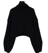 Sovea cropped polar knit