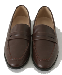 Steady Basic Penny Loafers