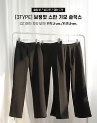 Correction Fit Span Raised Slacks
