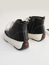 Delev high-top sneakers 4cm