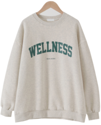Welner's Overfit Fleece-lined Sweatshirt