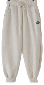 Welner's Fleece-lined jogger pants