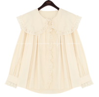 SAYBO BIG COLLAR LACE BLOUSE