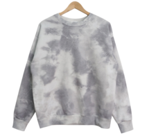 Water printing Fleece-lined Sweatshirt