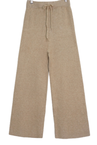 Basic Wide Knit Pants