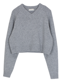 Wool Coming Slit Knit